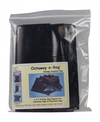 "Ostaway x-Bag 8"" x 8"" Ostomy Device Disposal Bag"