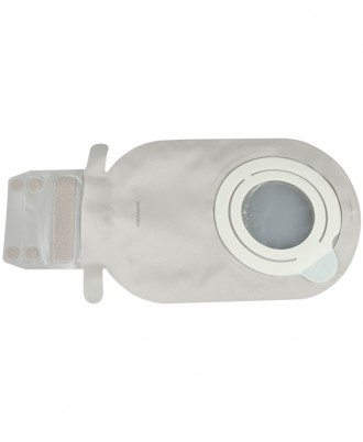 SenSura Mio Flex Two-Piece Drainable Pouch with EasiClose WIDE Outlet