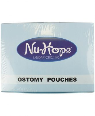 Post-Op One Piece Drainable Pouch with Oval Nu-Comfort Barrier