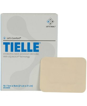 Tielle Adhesive Foam Dressing