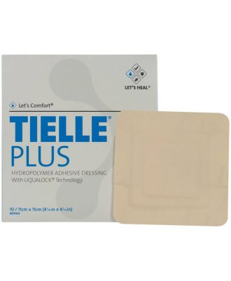 Tielle Plus Adhesive Foam Dressing