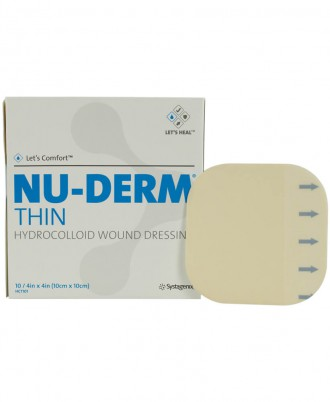 Nu-Derm Thin Hydrocolloid Wound Dressing