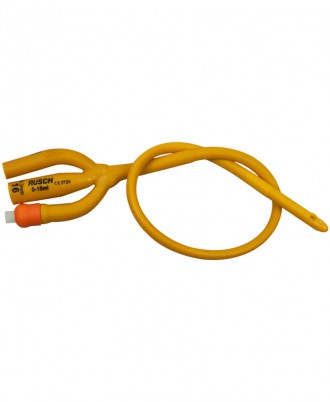 Rusch Gold 3-Way Silicone Coated Latex Foley Catheter