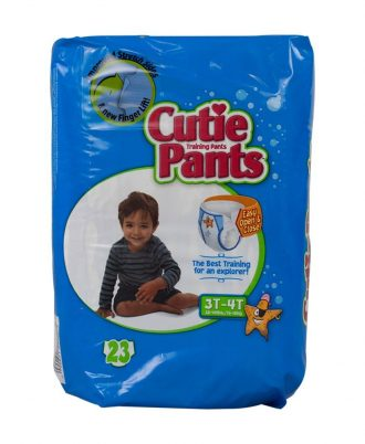 Cutie Pants Training Pants with Refastenable Sides