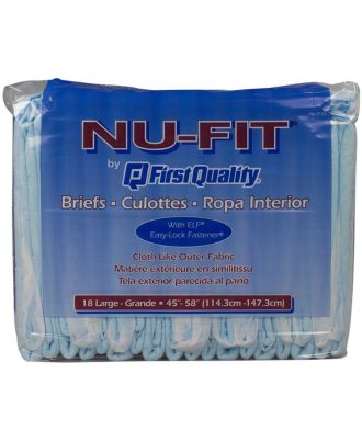 NU-Fit Maximum Absorbency Briefs