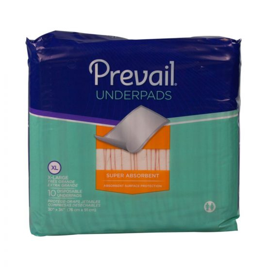 Prevail Premium Super Absorbent Underpad