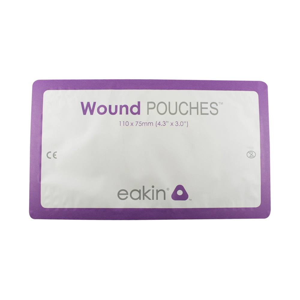 Eakin Wound Pouch With Fold And Tuck Closure