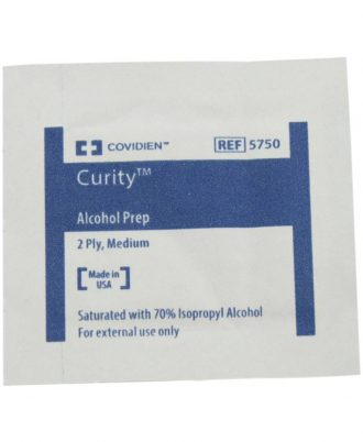 Curity Medium Alcohol Prep Pads
