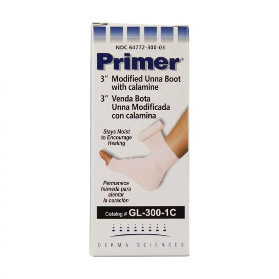 Primer Modified Unna Boots with Calamine