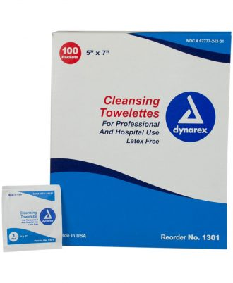 Dynarex Benzalkonium Cleansing Towelettes