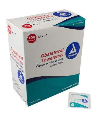 Dynarex Obstetrical Towelettes