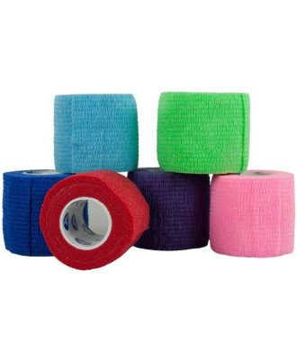 Sensi-Wrap Self-Adherent Latex Bandage Rolls