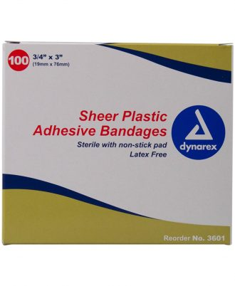Dynarex Sheer Plastic Bandages