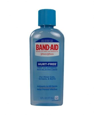 BAND-AID Hurt-Free Antiseptic Wash