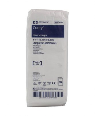 Curity Cover Sponges, Non-Woven, Non-Sterile