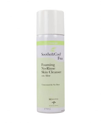 Soothe & Cool Foaming No-Rinse Skin Cleanser