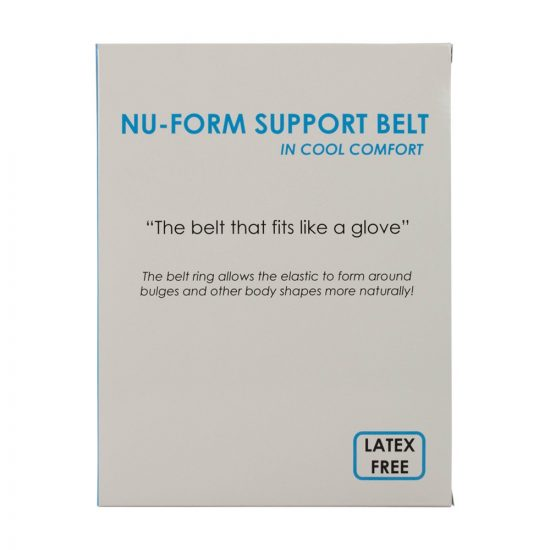 Nu-Form Support Belt, Cool Comfort Elastic, Prolapse Overbelt
