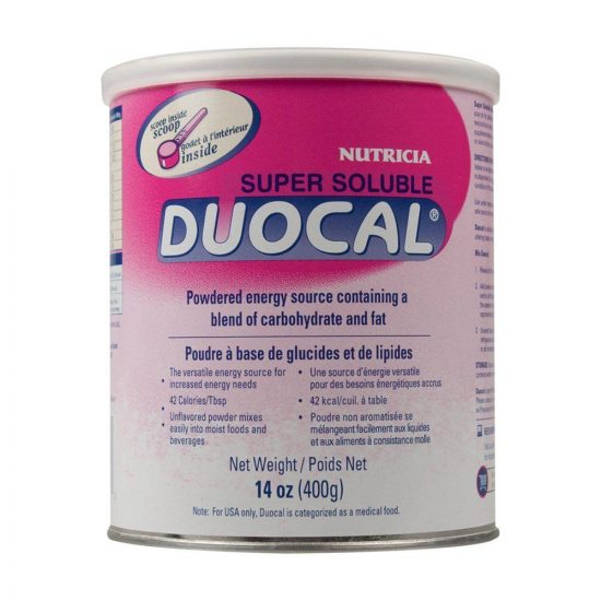 Nutricia Supur Soluble Duocal Energy Source