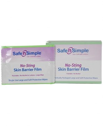 Safe n' Simple No Sting Skin Barrier Film - Large