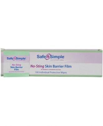 Safe n' Simple No Sting Skin Barrier Film
