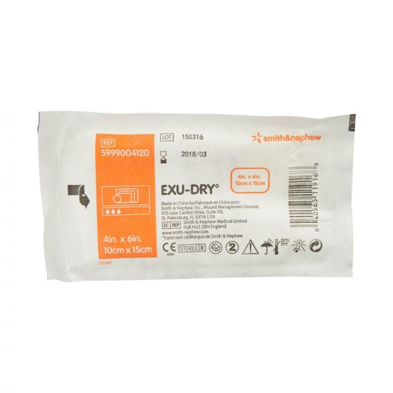 EXU-DRY Absorbent Dressing, Full Absorbency