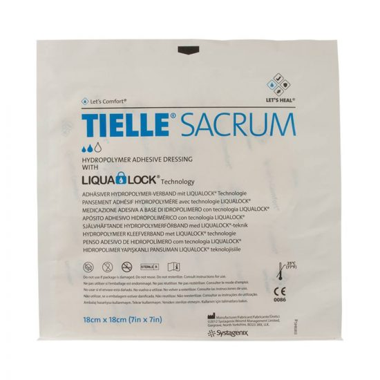 Tielle Adhesive Sacral Foam Dressing