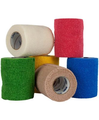 3M Coban Self-Adherent Wrap (Assorted Colors)